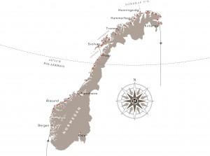 Postschiffreise Nordkap