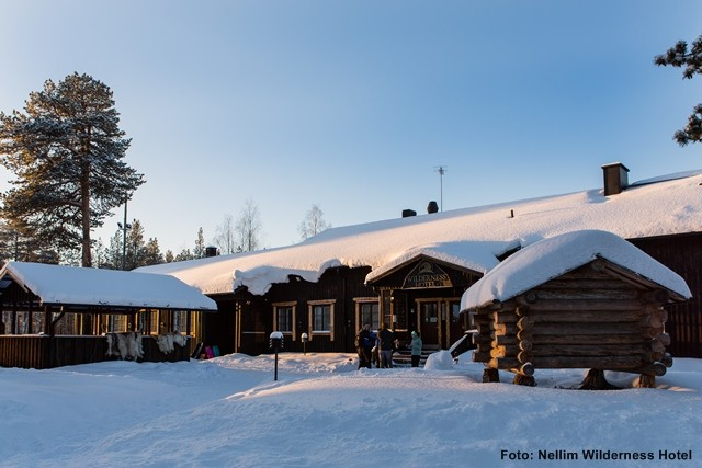 Finnland Winter Reise