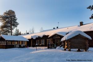 Finnland Winter Reise Nellim