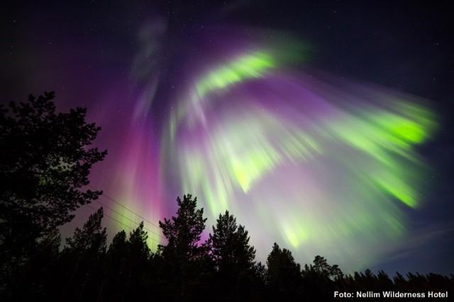 Polarlichter Reise Inarisee - Finnland Winterreisen 2017 / 18