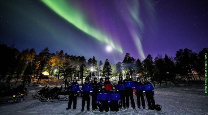 Winter Abenteuer Inarisee