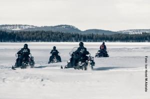 Schneemobil-Tour