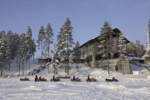 Finnland Winter Hotel