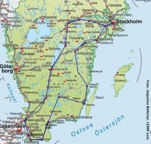 Rundreise Südschweden und Smaland
