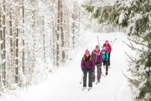 Skilanglauf Urlaub Finnland