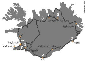 Island Reise Mietwagen