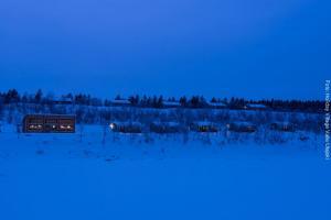 Lapplandreise Utsjoki-Hotel-Aussen