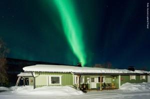 Polarlichter Valle Utsjoki