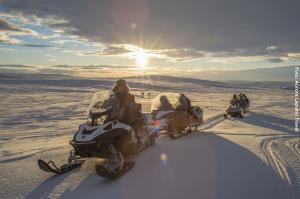 Schneemobiltour Utsjoki