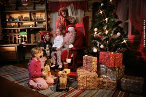 Glasiglus Finnland, Weihnachtsmann Kakslauttanen
