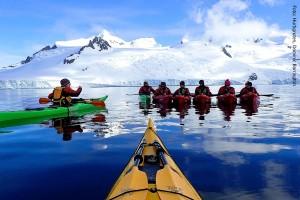 Antarktis Kajak