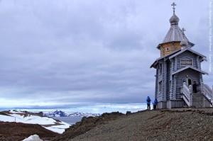 Antarktis Kirche
