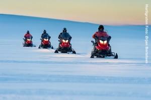 Norwegen-Schneemobilsafari