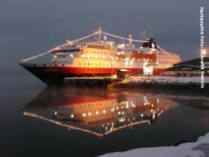 Hurtigrutenreise Nordlys