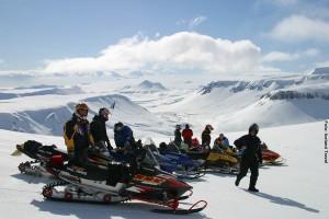 Island Winter Snowmobile