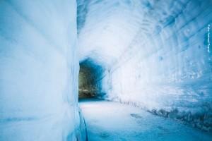 Island im Gletscher