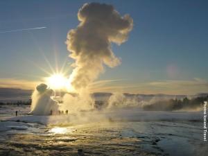 Islandreise Winter Geysir GoldenCircle