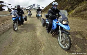 Island-Motorradtour