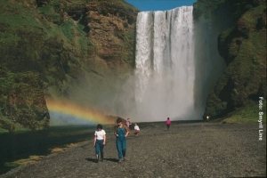 Island-Wasserfall