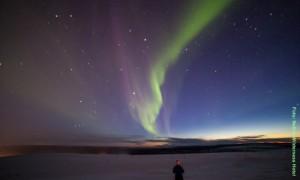 Nordlichter-in-Lappland