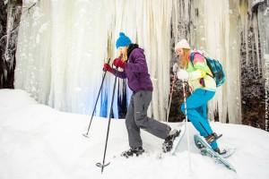 Finnland-Schneeschuhwandern