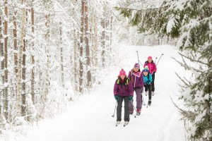 Skilanglauf Urlaub Karelien