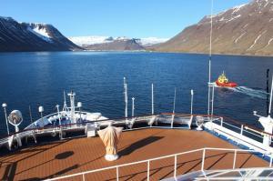 Island Seereise Isafjoerdur