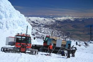 Island Seereise Snaefellsnesjoekull Gletscher