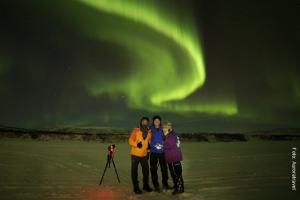 Lappland_Winterreise_Nordlicht5