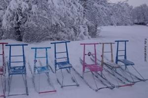 Lappland_Winterreise_Tretschlitten