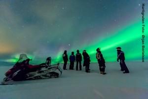 Hurtigruten Landausflüge Polarlichter