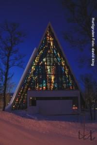 Hurtigruten Landausflüge Tromso-Kathedrale