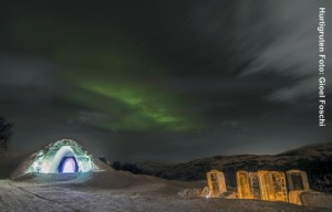 Hurtigruten Landausflüge Schneehotel-Kirkenes