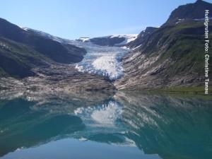 Hurtigruten Landausflüge Norwegen-Svartisen-Gletscher