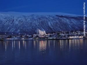 Hurtigruten Landausflüge Tromsø-Arktis-Kathedrale