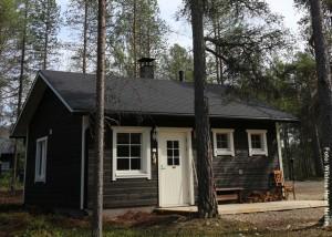 Wildnis Hotel Nellim Hütte