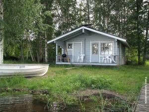 Finnland Ferienhaus Saimaa See