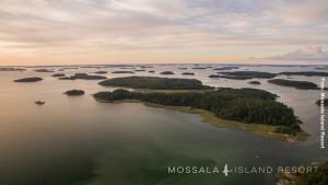 Finnland Hütten Schären