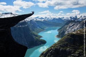 Norwegen Reise Trollzunge