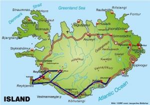 Island Busreise Winter