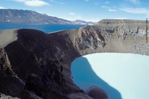 Askja Island Vulkan