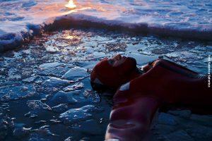 Nordlichter Eisschwimmen