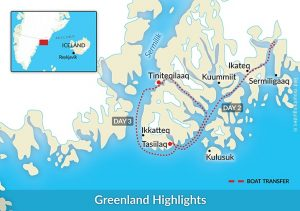 Groenland Reise Highlights