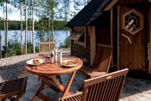 Finnland Ferienhaus See
