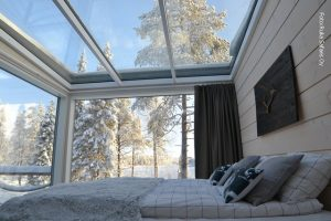 Finnland Glasvilla Dorf